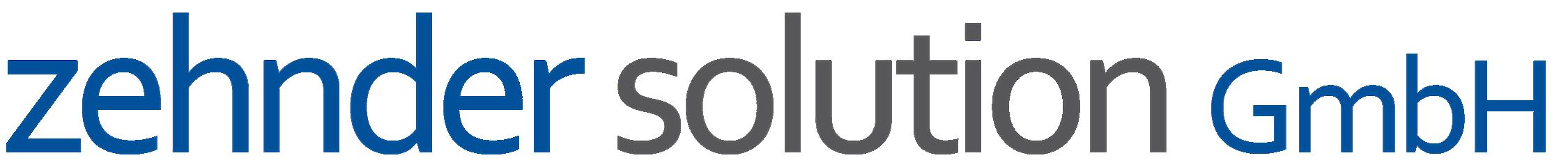 Logo Zehnder Solution